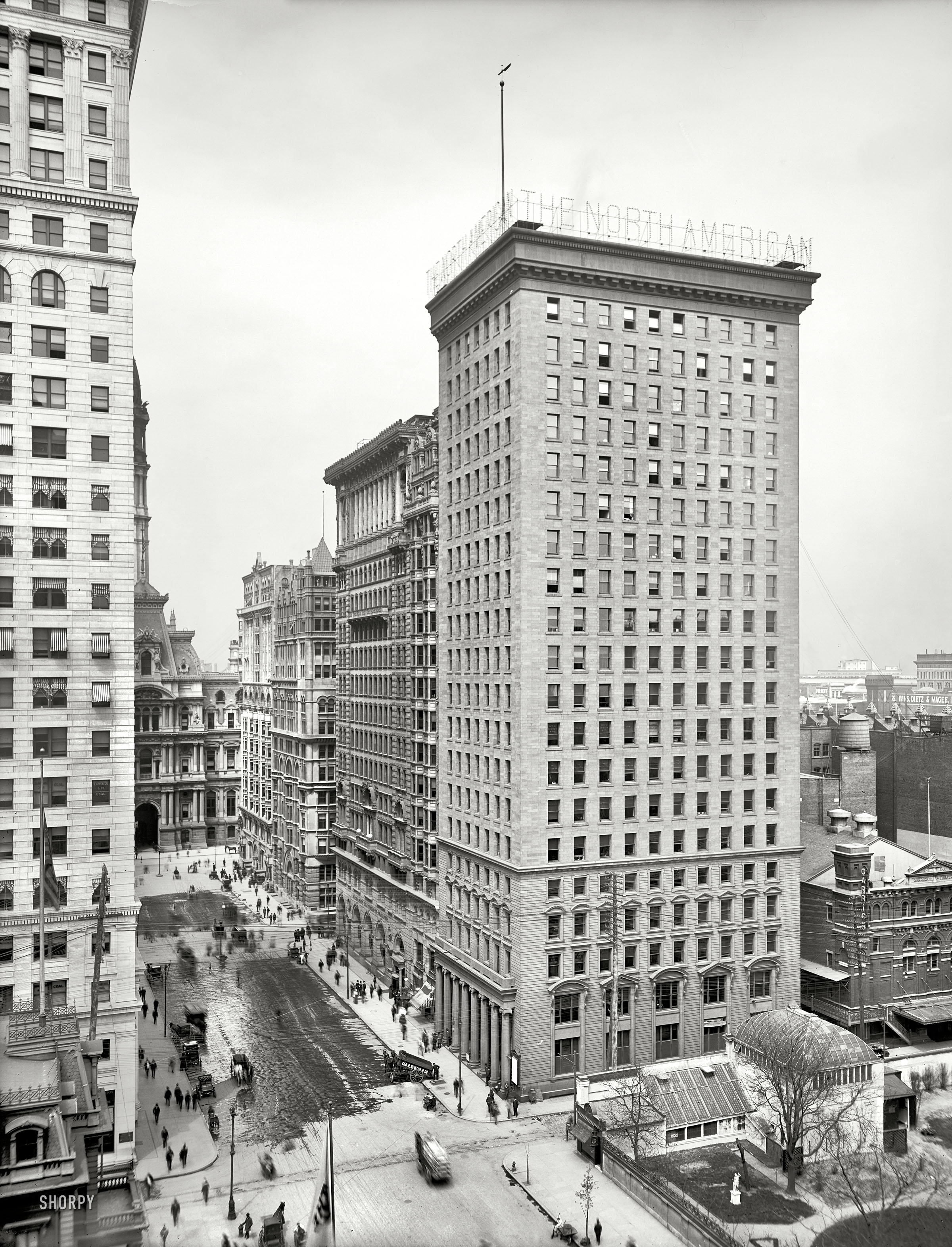 Shorpy historic picture archive big box 1905 high for American house construction