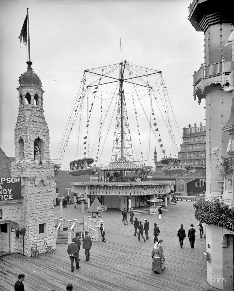 Traver Circle Swing: 1905
