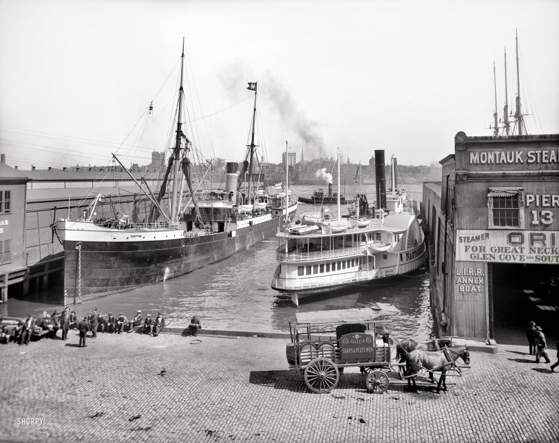 Pier Thirteen: 1905