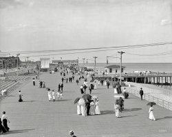 Asbury Park Boardwalk: 1905