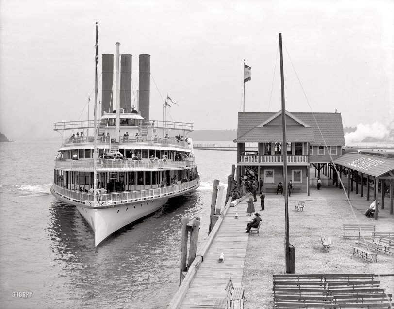 River Cruise: 1906