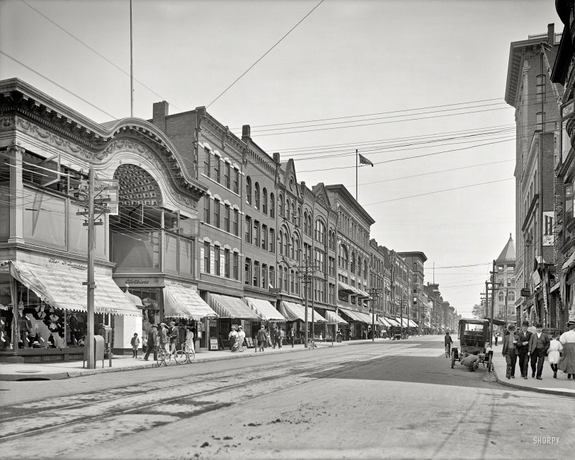 High Street: 1908
