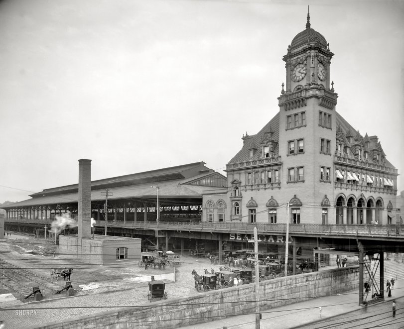 Main Street Station: 1905