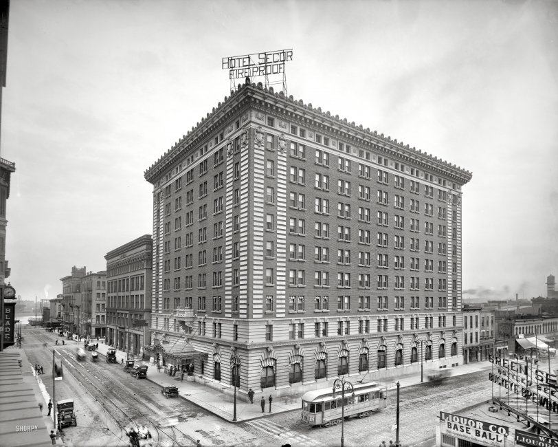 Hotel Secor Fireproof: 1909