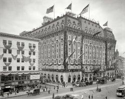 Hotel Astor: 1909