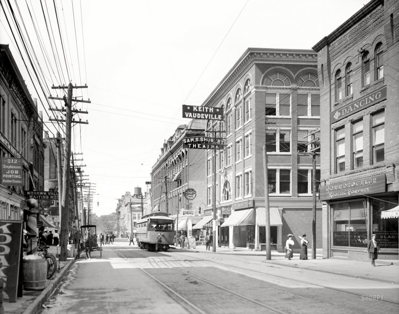 Bleecker Street: 1910