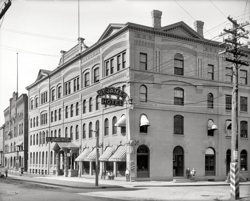 St. James Hotel: 1910
