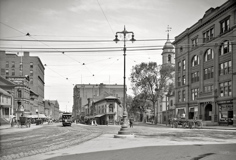 Congress Square: 1907