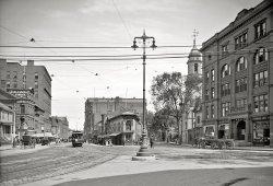 Congress Square: 1907