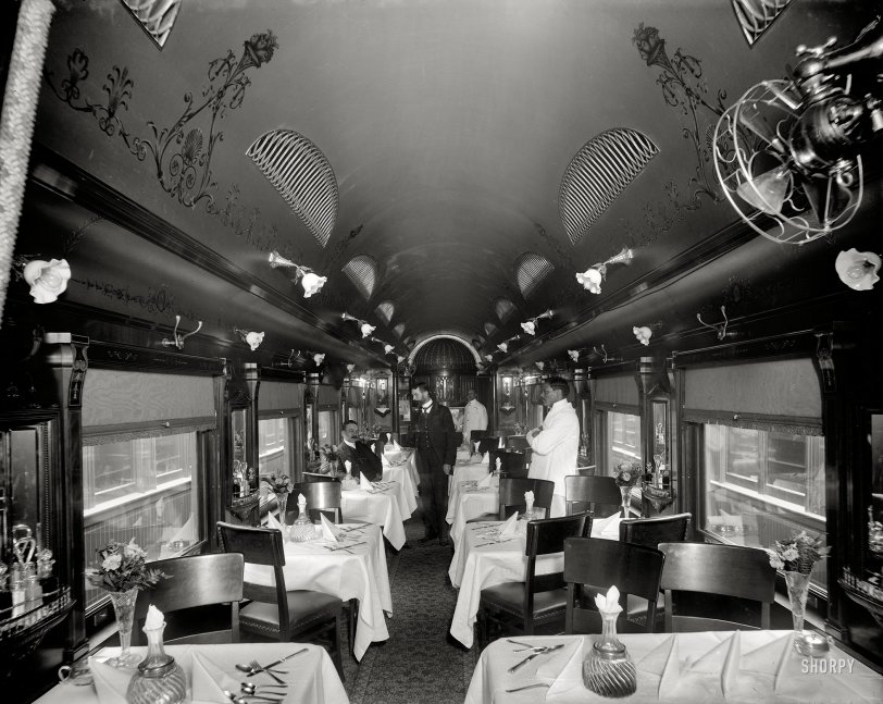 The Dining Car: 1902