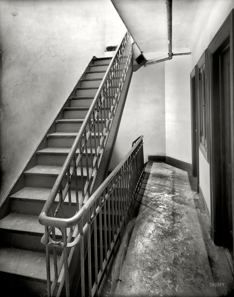 Tenement Stairs: 1905