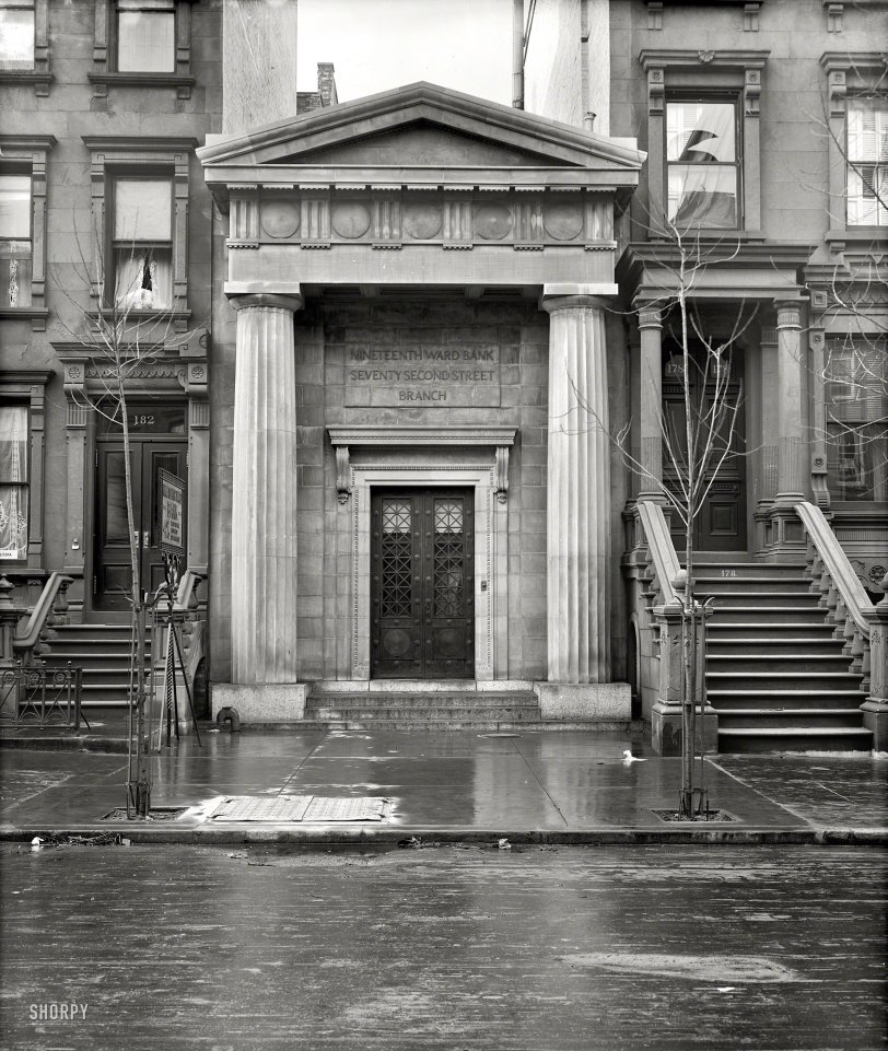 Nineteenth Ward Bank: 1908
