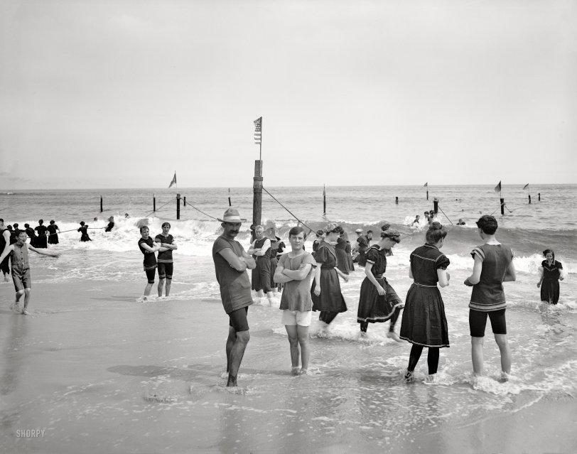 Coney Island Bathers: 1905