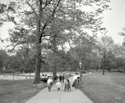 Strolling Through the Park: 1907