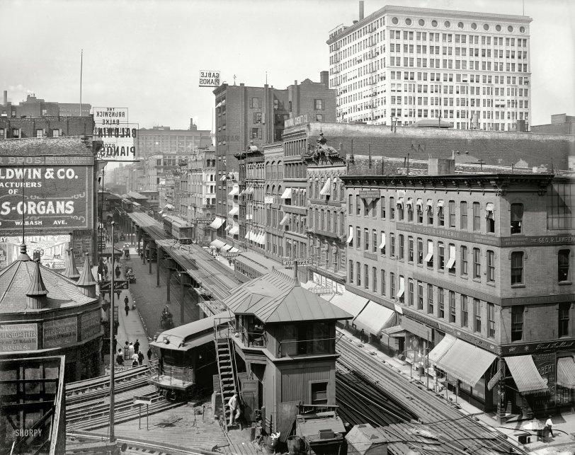 Wabash Avenue El: 1907