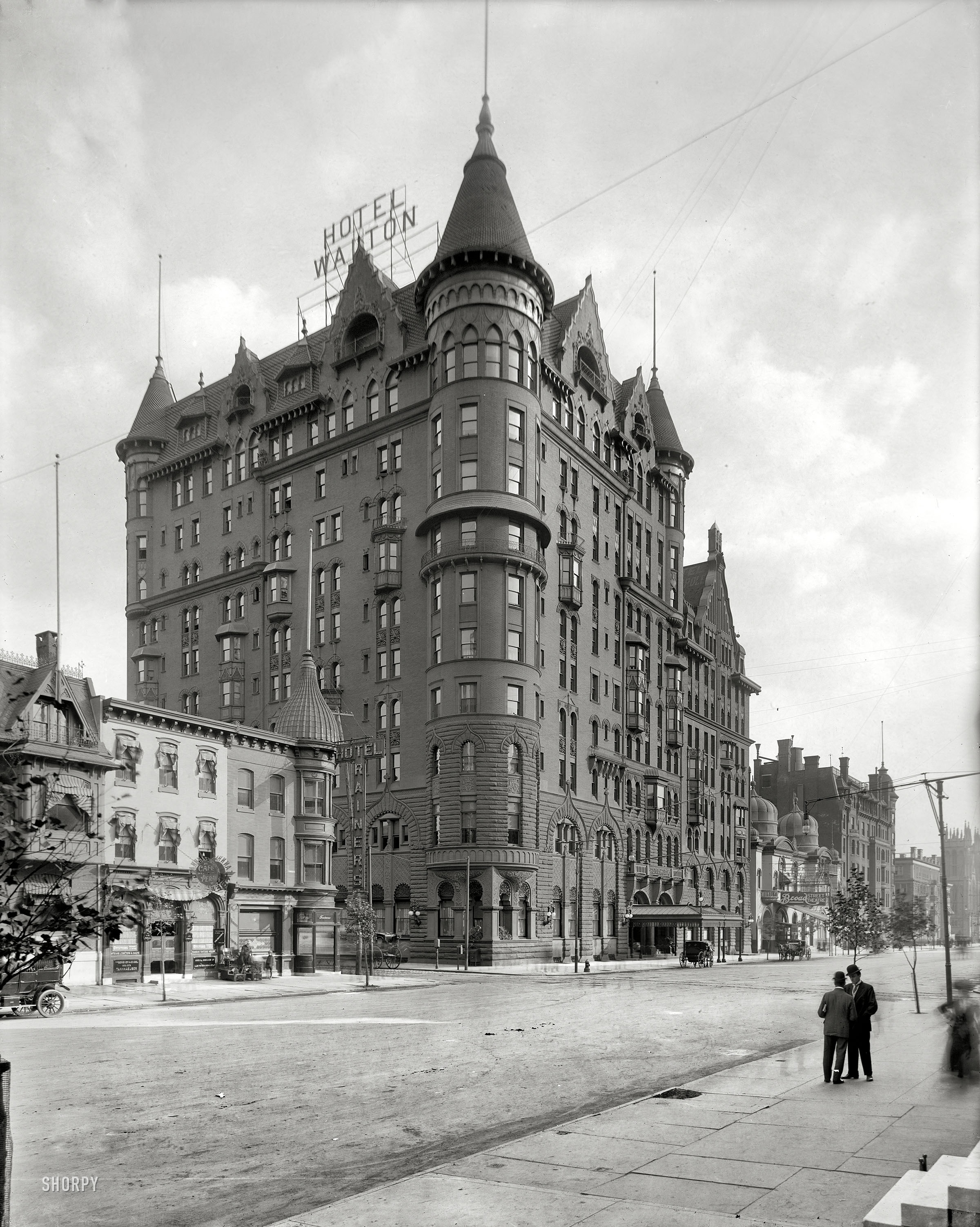 Shorpy Historic Picture Archive Hotel Walton 1908 High Resolution Photo
