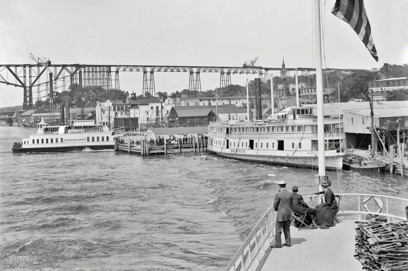 Poughkeepsie Panorama: 1908