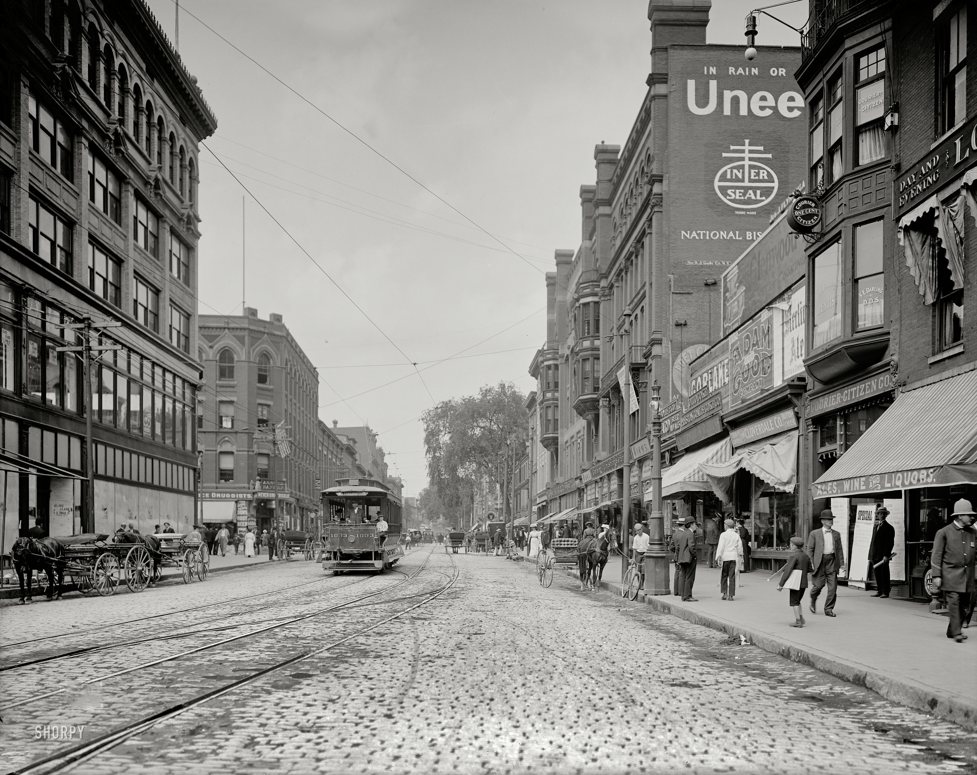 Shorpy Historic Picture Archive Merrimack Street 1908