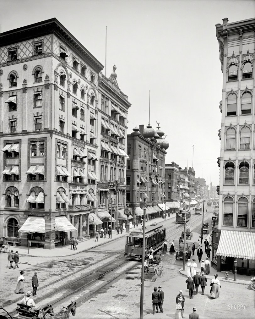 Worthington and Main: 1908