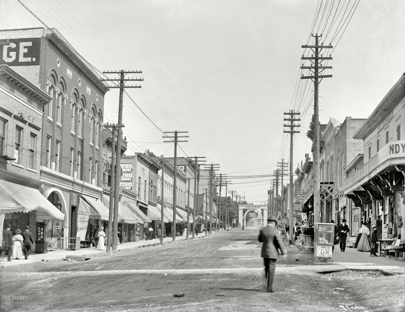 Welcome to Petoskey: 1908