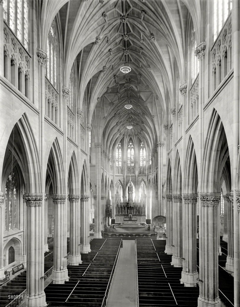 St. Patrick's Cathedral: 1907