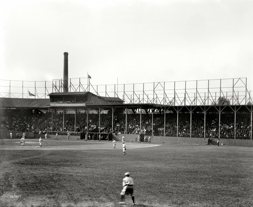 The Old Ball Game: 1908
