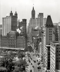 On Broadway: 1910