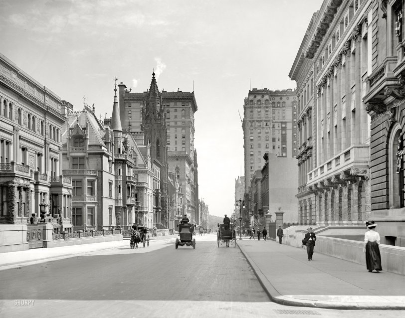 Fifth Avenue: 1908