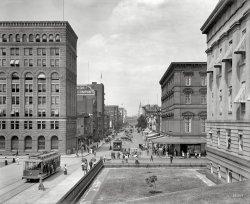 F Street: 1908