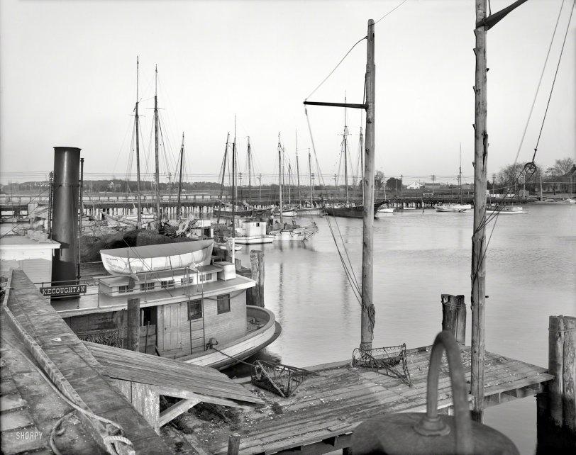 Oyster Steamer: 1908