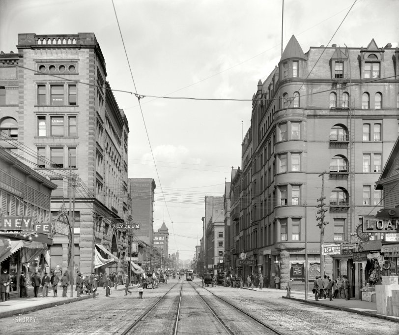 Superior Street: 1909