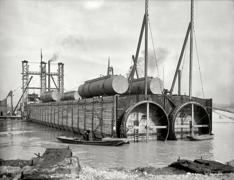 The Floating Tunnel: 1910