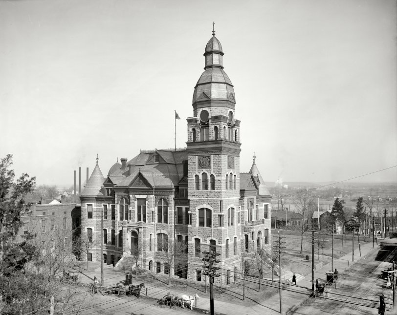 Pulaski County Courthouse: 1905