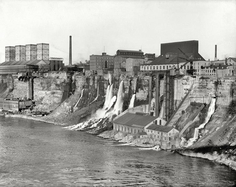 Niagara Mills: 1906