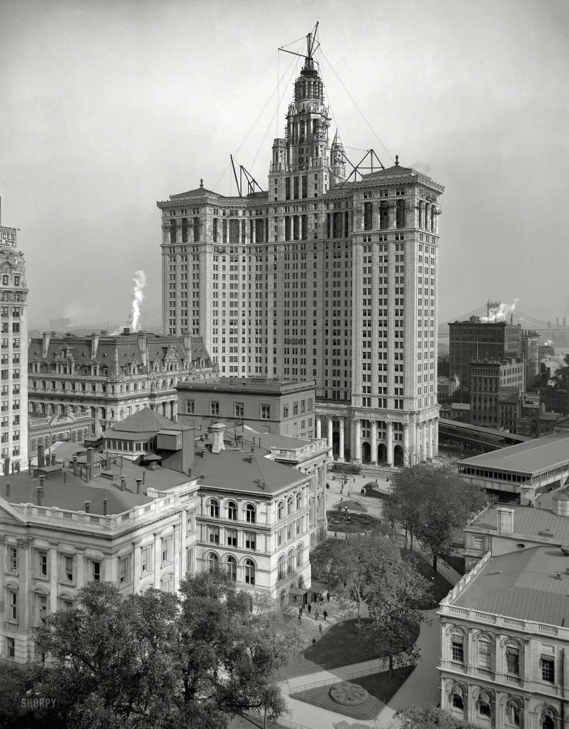Manhattan Municipal: 1913
