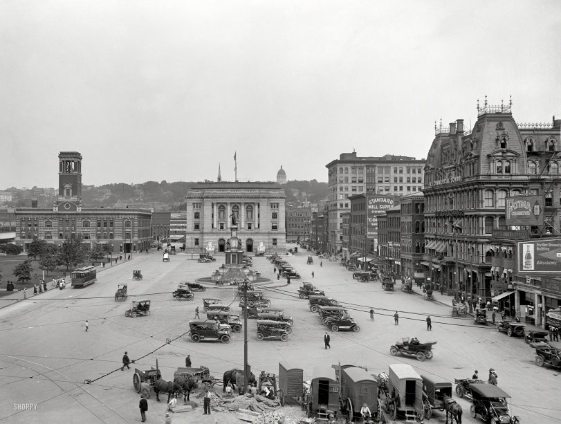 Exchange Place: 1910