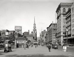 Tremont Street: 1923