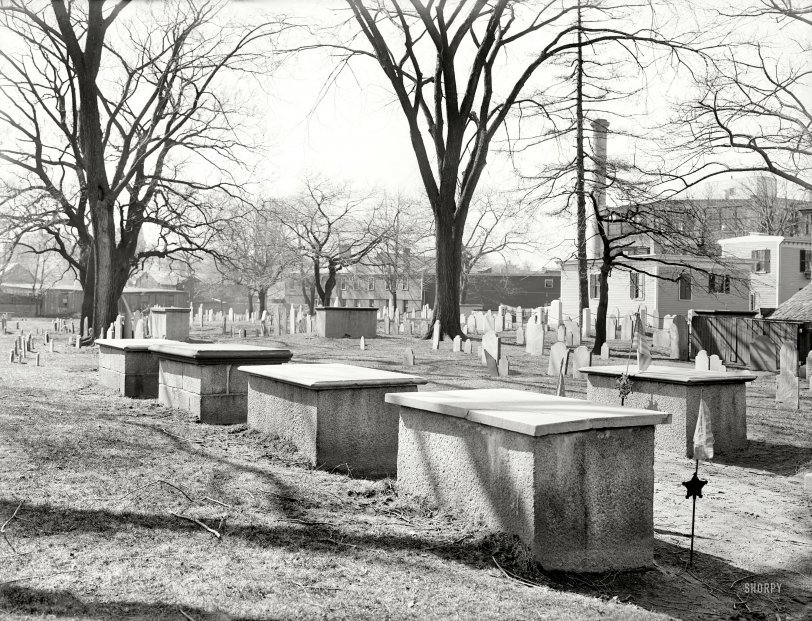 The Old Burying Ground: 1906