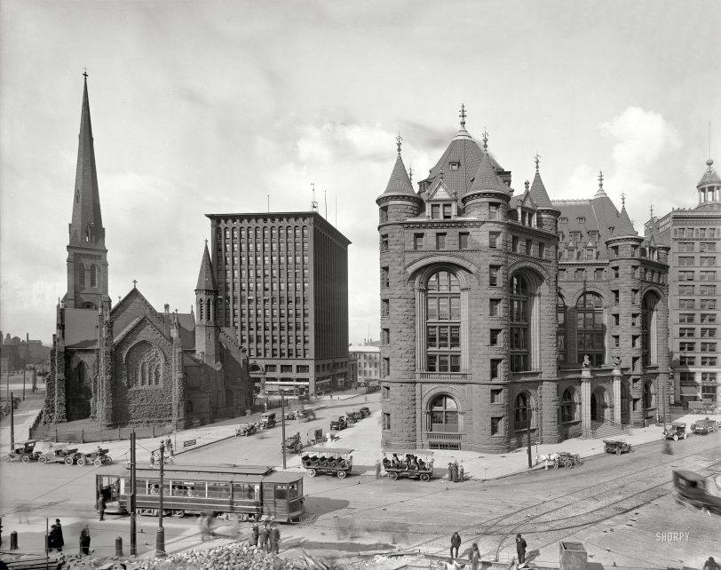 Shelton Square: 1908