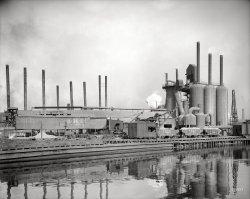 Central Furnace Works: 1908