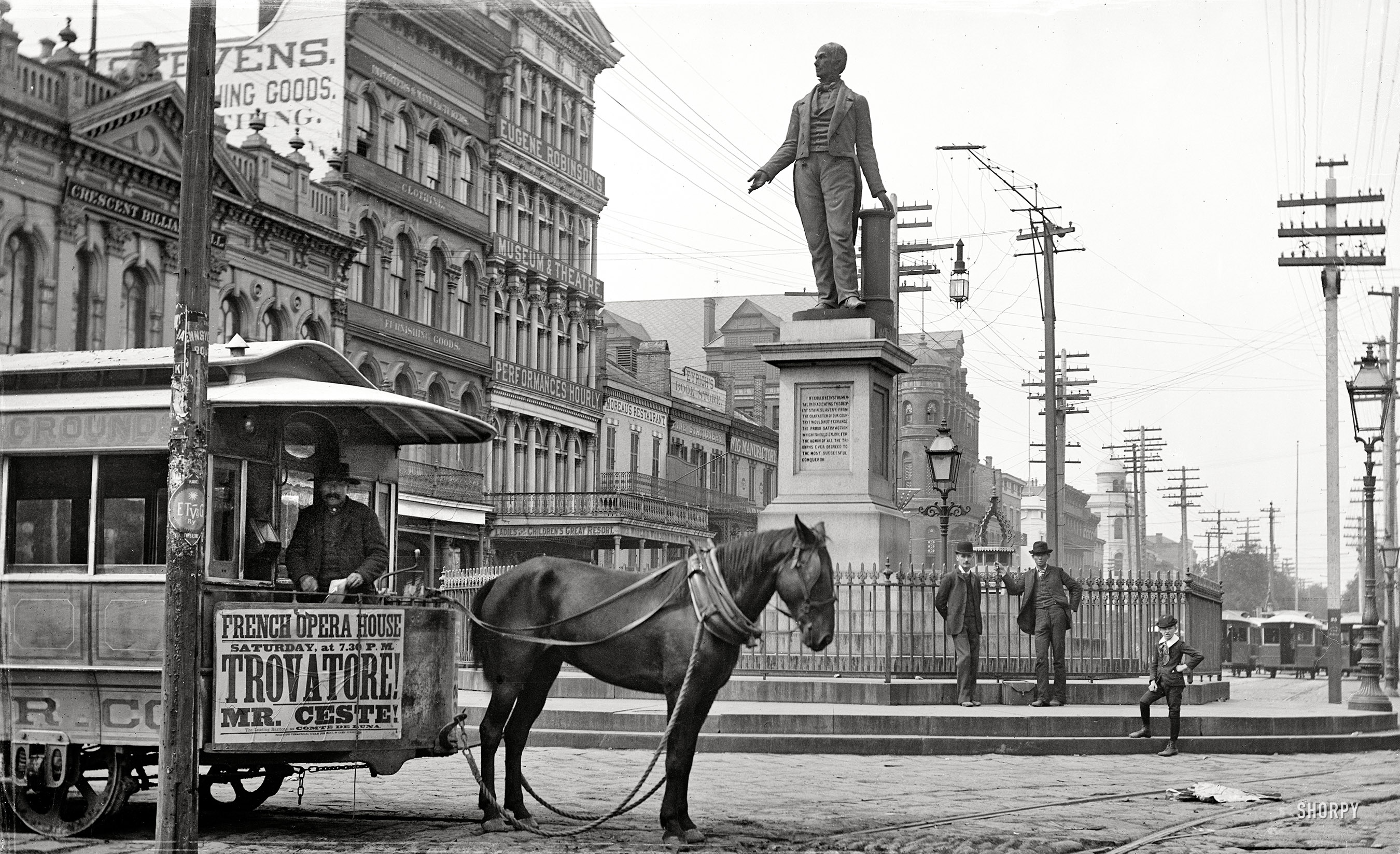 Shorpy Historic Picture Archive :: Horsecar Opera: 1890 high-resolution  photo