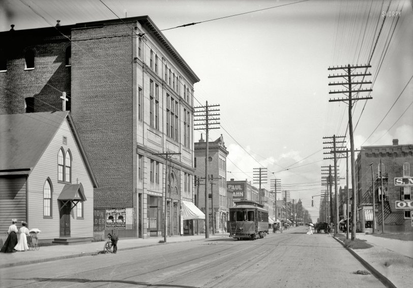Wash Ave.: 1906