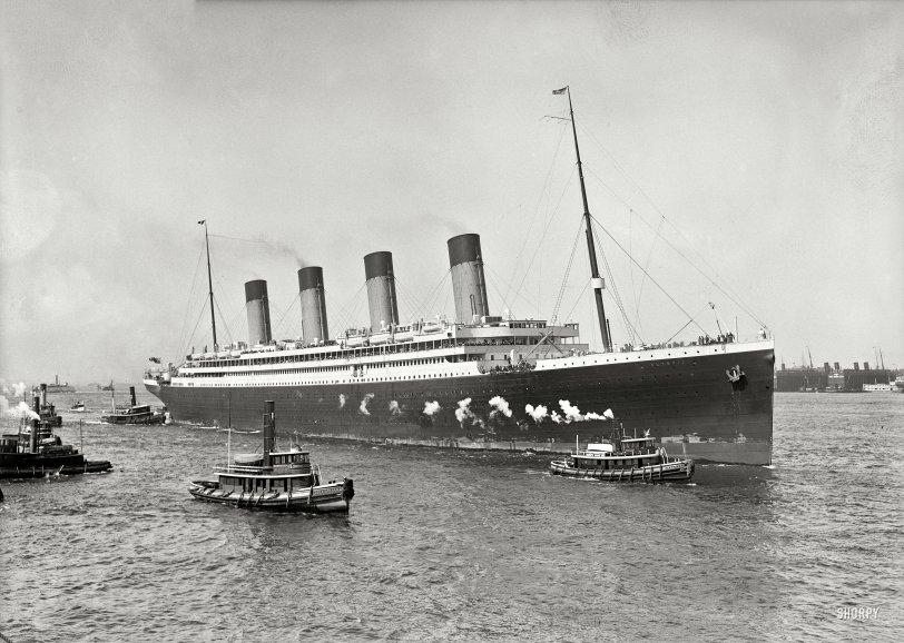 S.S. Olympic: 1911