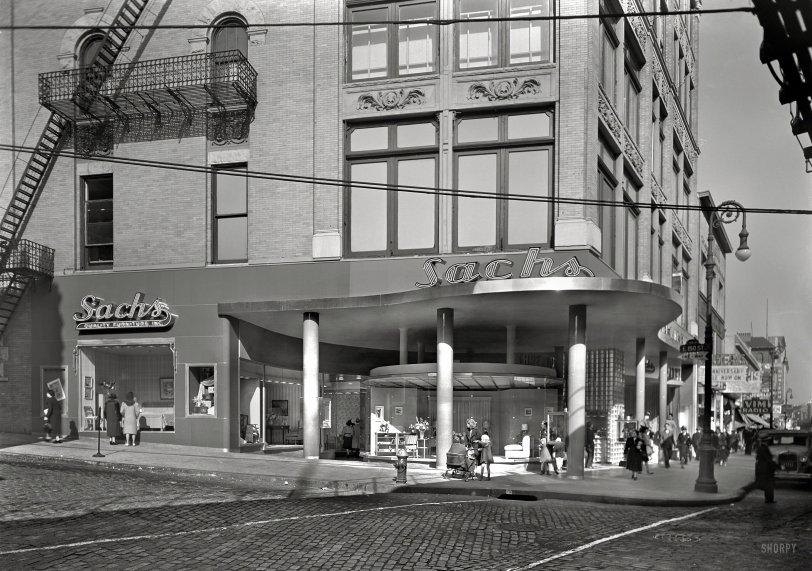 Sachs Third Avenue: 1940