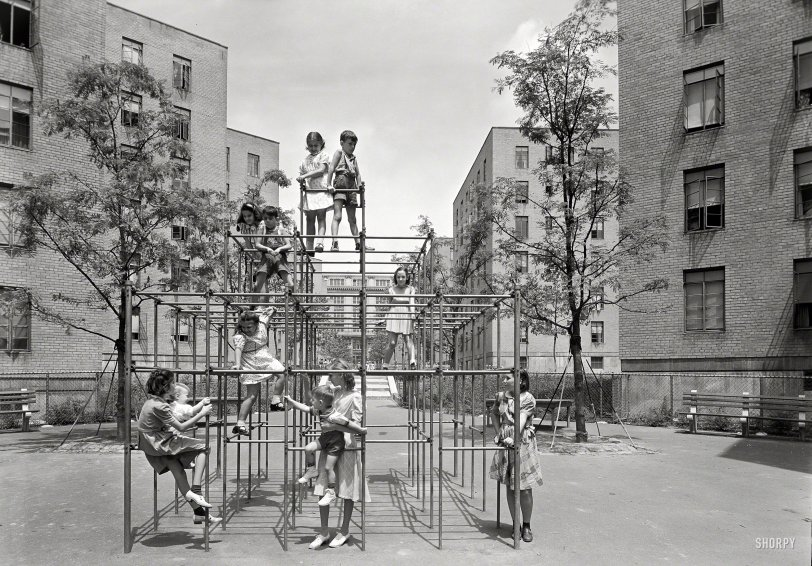 The Asphalt Jungle Gym: 1941