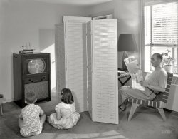 Television Screen: 1950