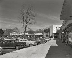 The Shopping Center: 1952