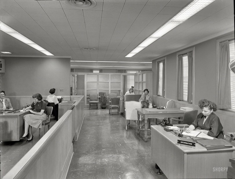 The Mortgage Room: 1953