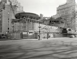 Guggenheim Going Up: 1957