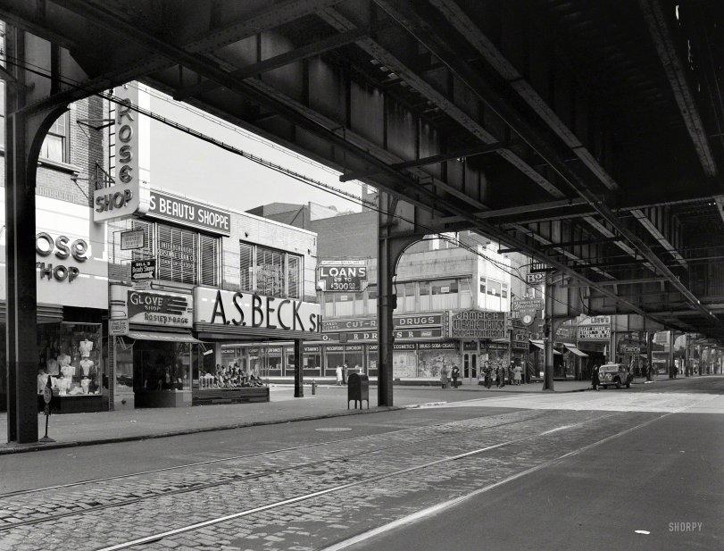 Jamaica Avenue El: 1944